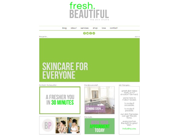 Fresh Beautiful - Creative Direction, Project Mgmt NLB Media